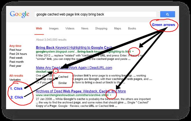 google cache pic